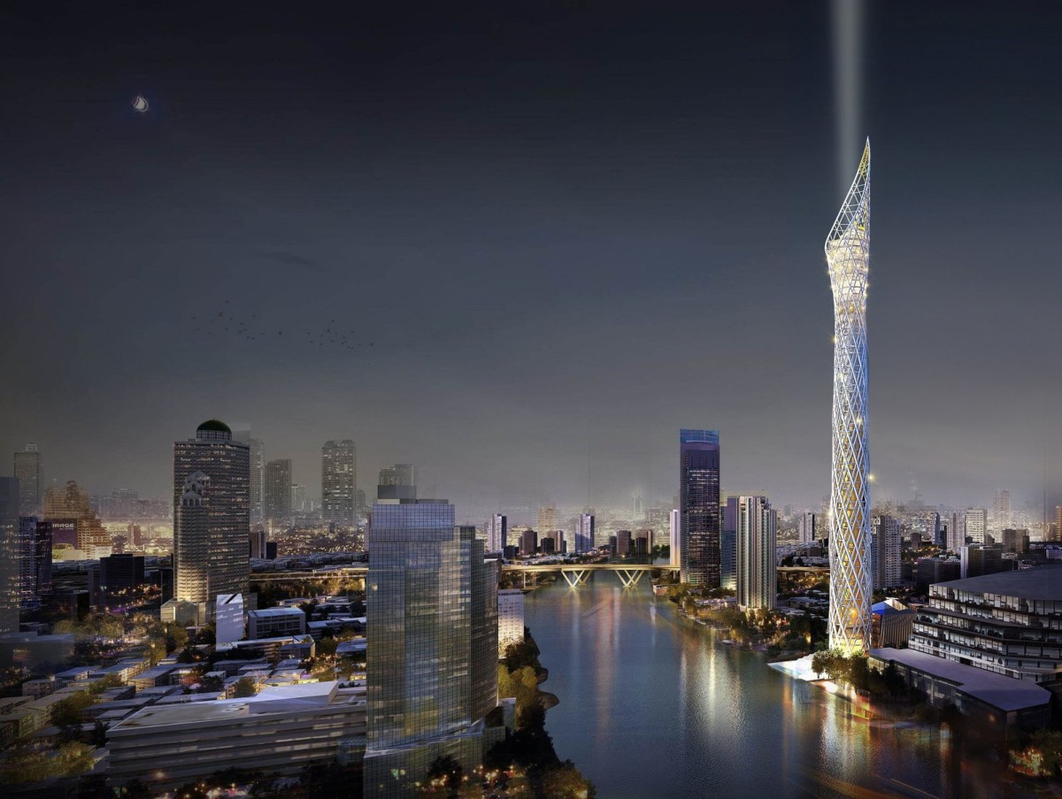 Thailand is building a 459 metres high observation tower in Bangkok